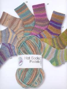 Bilde av Hot Socks Pastello 64 6 tr