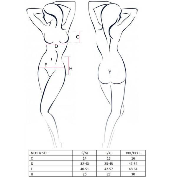 WOMAN NEDDY SET L/XL