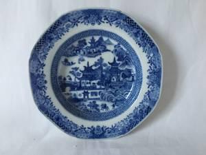 Bilde av Dyp ostindisk tallerken