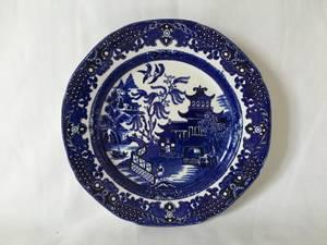 Bilde av Engelsk  tallerken, Willow-dekor