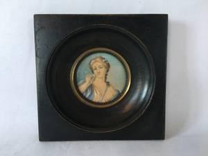Bilde av Miniatyrmaleri, Mme de Pompadour