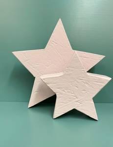 Bilde av Dekor stjerne rosa