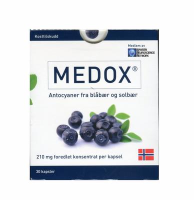 MEDOX ANTOCYANER 80MG 30 KAPSLER