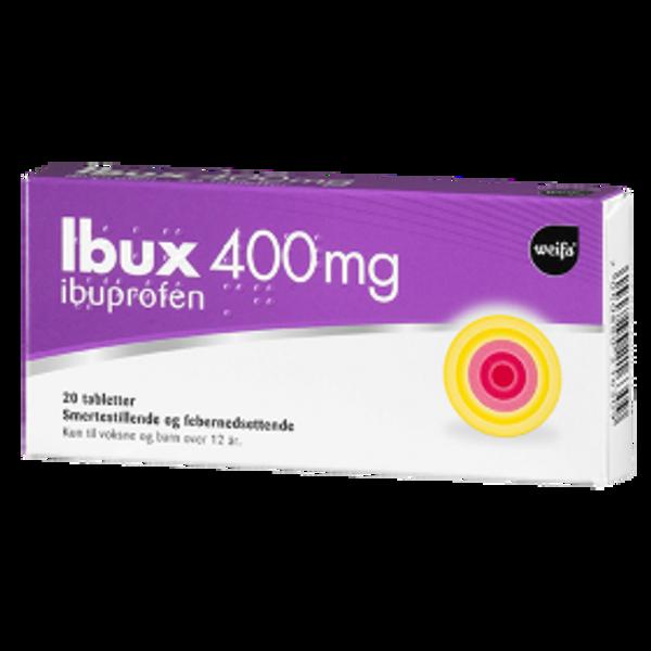 Bilde av Ibux 400mg 20 tabletter