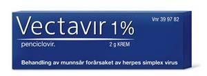 Bilde av VECTAVIR KREM 1% 2G