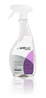 ANTIBAC 75 % OVERFLATEDESINFEKSJON SPRAY 750 ML
