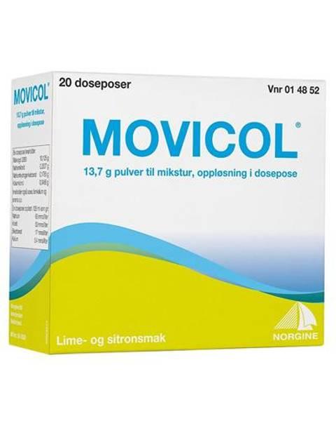 Bilde av Movicol pulv til mikst 20 doseposer