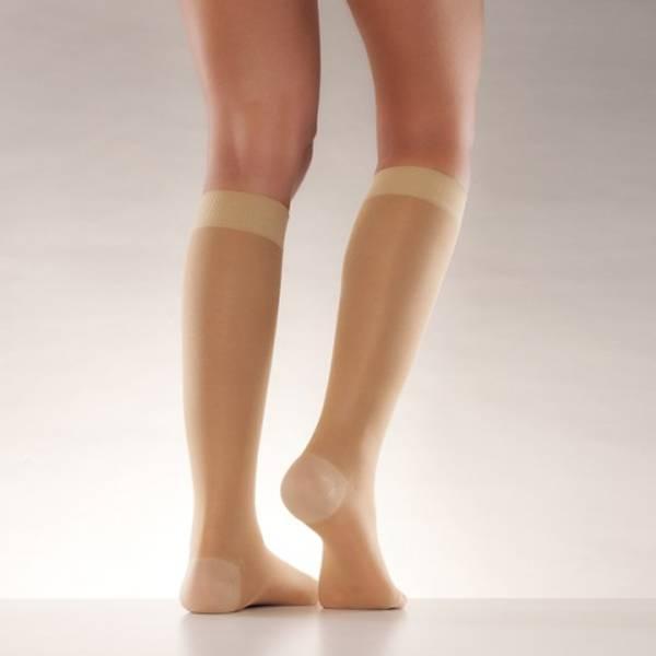 Bilde av Mabs nylon knestrømpe sand XL