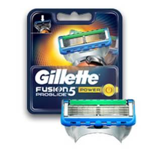 Bilde av GILLETTE FUSION 5 PROGLIDE POWER BLAD 4 STK