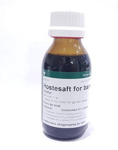 Bilde av HOSTESAFT FOR BARN NAF MIKST 100 ML