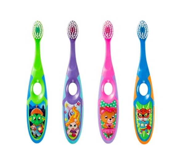 Bilde av Jordan tannbørste barn 3-5 år