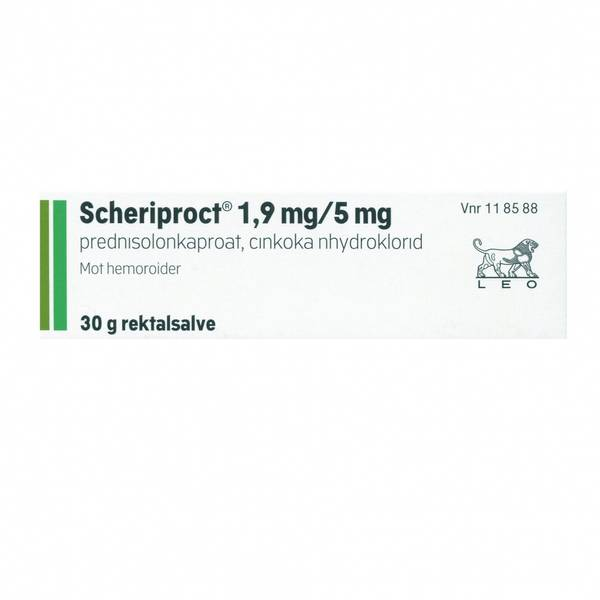 Bilde av Scheriproct salve 30 gram
