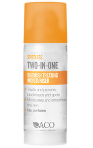 Bilde av ACO SPOTLESS BLEMISH TREATING MOISURISER 50 ML