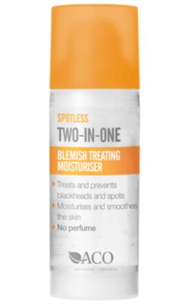 Bilde av Aco spotless blemish treating moisuriser 50 ml