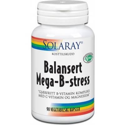 SOLARAY MEGA B STRESS VEG 90 KAPSLER