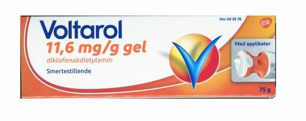 Bilde av Voltarol gel 11,6 mg/g med applikator 75 gram