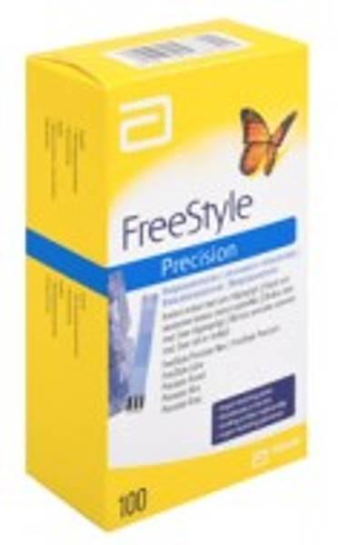 Bilde av Freestyle precision 50 teststrimler