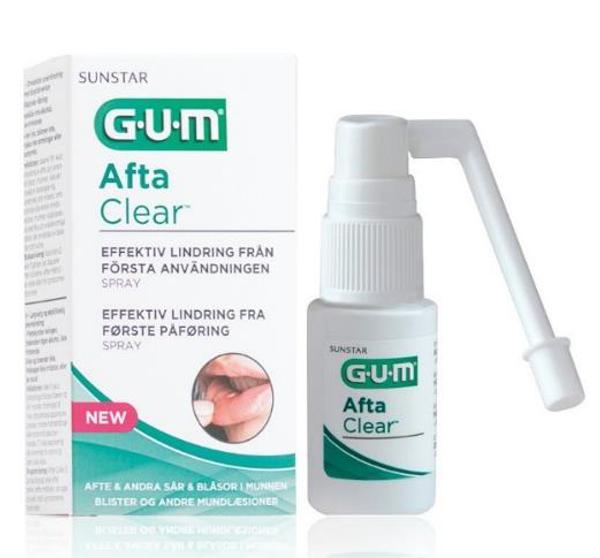 Bilde av Gum afta clear spray 15 ml