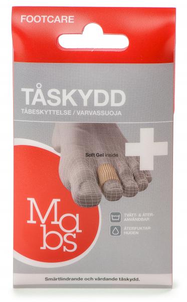 Bilde av Mabs tåbeskyttelse tubeform 2 stk