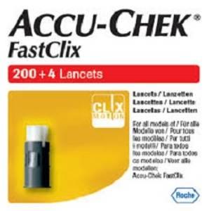 Bilde av ACCU-CHEK FASTCLIX LANSETTTROMMEL 204 STK