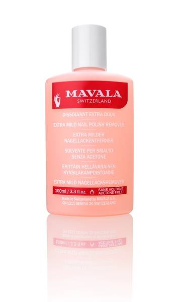 Bilde av Mavala nail polish remover pink 100 ml