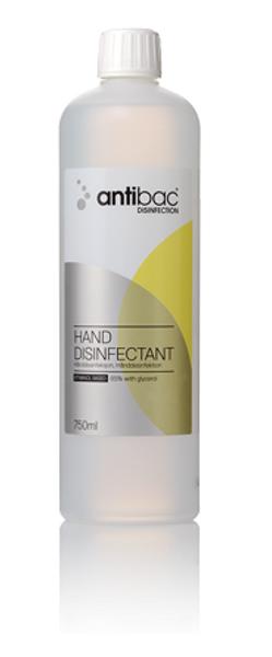 Bilde av Antibac 85 % hånddesinfeksjon 750 ml