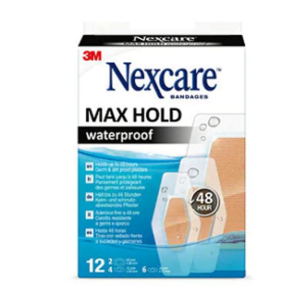 Bilde av Nexcare max hold waterproof 12 stk