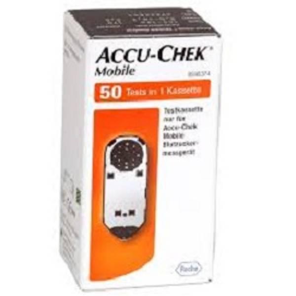 Bilde av Accu-chek mobile testkasett 50 stk