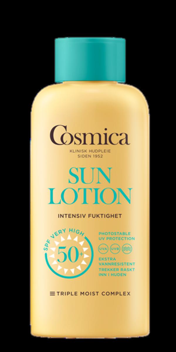 Cosmica sun lotion f50+ u/p 200 ml