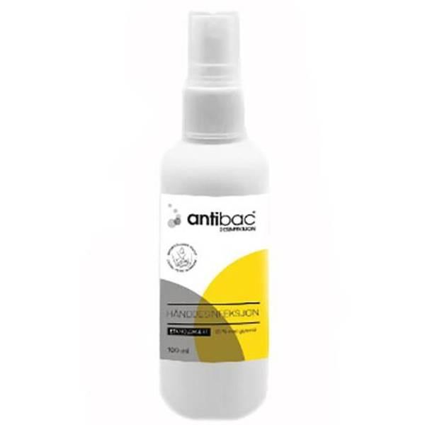 Bilde av Antibac 85 % hånddesinfeksjon hv spray 100 ml