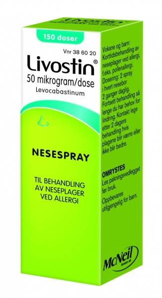 Bilde av Livostin nesespray 50 mcg/dose 150 doser