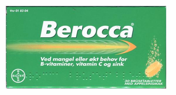 Bilde av Berocca 30 brusetablett