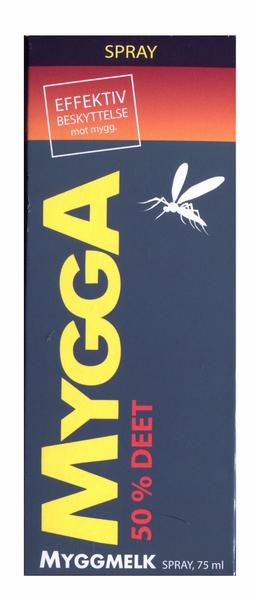 Bilde av Mygga spray 50% deet 75 ml