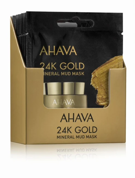 Bilde av Ahava mask 24K gold mineral mud 6 ml