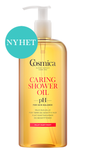 Bilde av COSMICA CARING SHOWER OIL M/PARF 400 ML