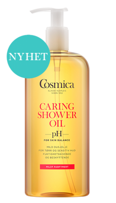 COSMICA CARING SHOWER OIL M/PARF 400 ML