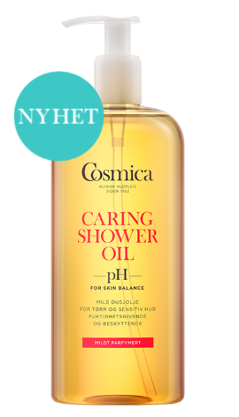 Bilde av Cosmica caring shower oil m/parf 400 ml