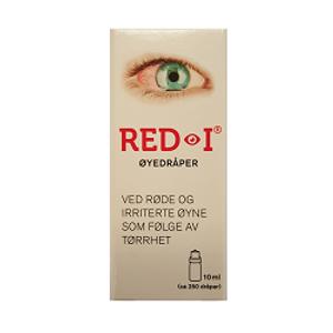 Bilde av RED-I ØYEDRÅPER 10ML