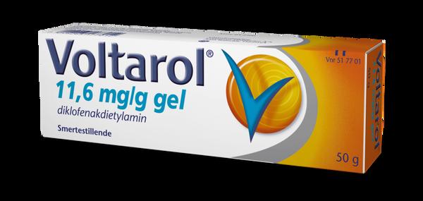 Bilde av Voltarol gel 11,6 mg/g 50 gram