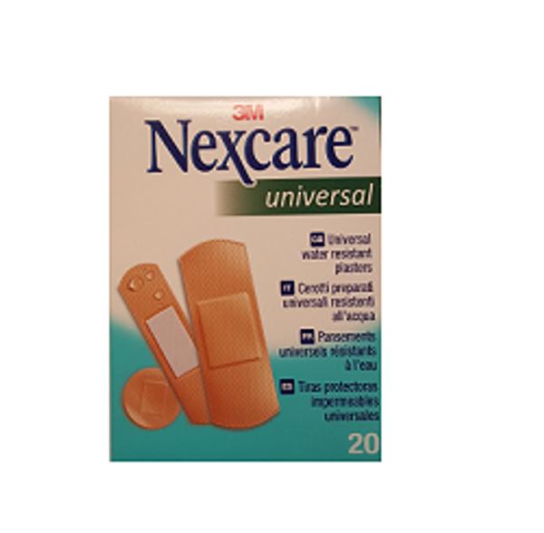 Bilde av Nexcare universal ass 20 strips