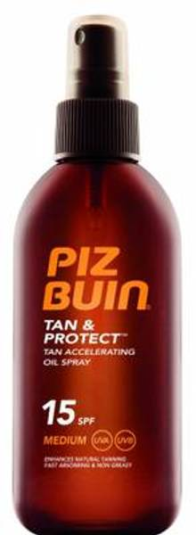 Bilde av Piz Buin Tan & Protect Oil spray F15 150 ml