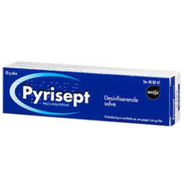 Bilde av Pyrisept salve 1 mg/g  20 gram