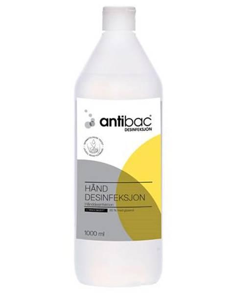Bilde av Antibac 85 % hånddesinfeksjon m/fliptop 1000 ml