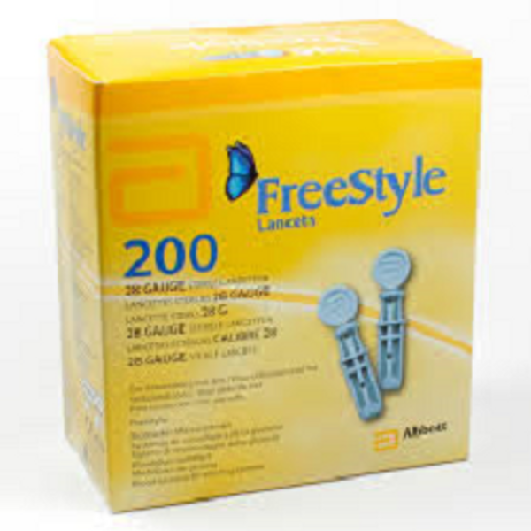 Bilde av Freestyle lansett 200 stk