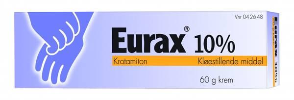 Bilde av Eurax krem 10 % 60 gram