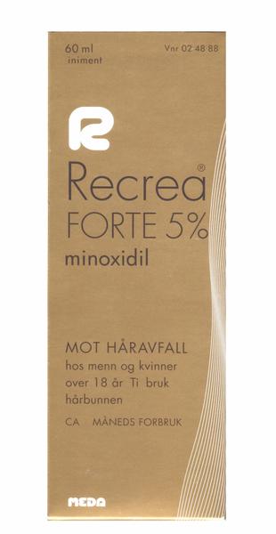Bilde av Recrea forte liniment 5% 60 ml