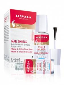 Bilde av MAVALA NAIL SHIELD 1+2 2X10 ML
