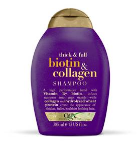 Bilde av OGX BIOTIN & COLLAGEN SHAMPOO 385 ML