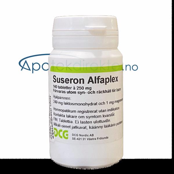 Bilde av Suseron alfaplex (alloplex 40) 140 tabletter