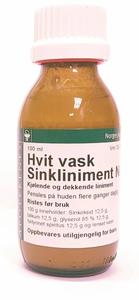 Bilde av HVIT VASK - SINKLINIMENT NAF 100ML